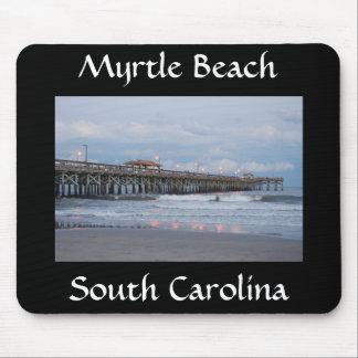 Myrtle Beach South Carolina am Sonnenuntergang Mousepad