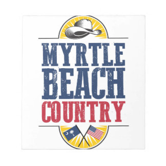 Myrtle- Beachland Notizblock
