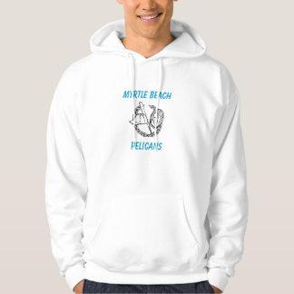 Myrtle- Beachpelikan-Baseball-Damen-Sweatshirt Hoodie