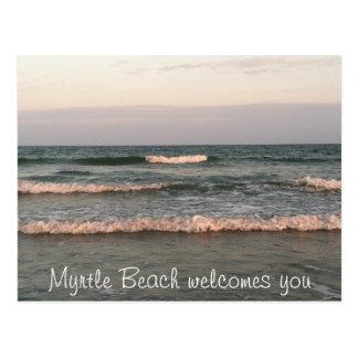 Myrtle- Beachpostkarte Postkarte