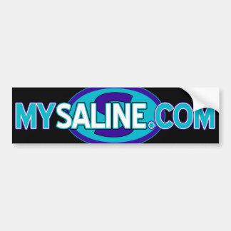 mysaline blues2 autoaufkleber