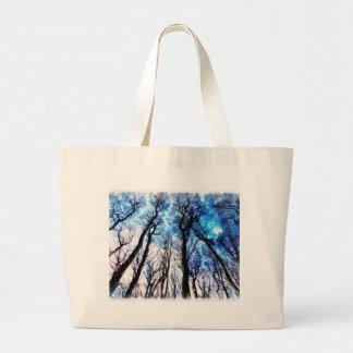 Mysteriöse Bäume Jumbo Stoffbeutel