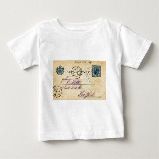 Mysteriöse Handschrift auf der Rückseite dieses - Baby T-shirt
