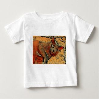 Mysteriöse Katze Baby T-shirt