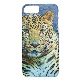 Mysteriöser Leopard-Nahaufnahme-Entwurf iPhone 8/7 Hülle