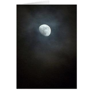 Mysteriöser Mond Karte