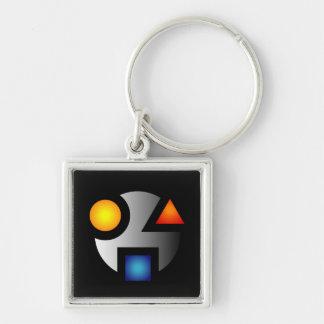 Mysteriöses keychain Logo MI Schlüsselanhänger