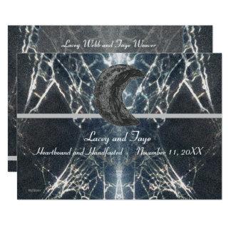 Mysteriöses Netz Goth gotisches schwarzes graues Karte