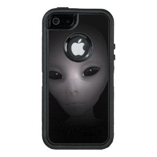 Mysteriöses schwarzes alien OtterBox iPhone 5/5s/SE hülle