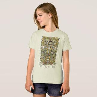 """MYSTICMATRIX """"Wunder-"""" natürliches Mädchen-T-Stück T-Shirt"""