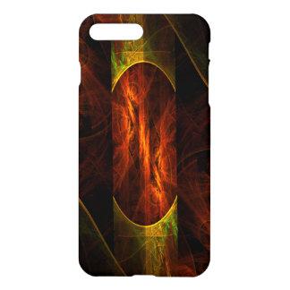 Mystique-Dschungel-abstrakte Kunst glatt iPhone 8 Plus/7 Plus Hülle