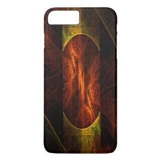 Mystique-Dschungel-abstrakte Kunst iPhone 8 Plus/7 Plus Hülle