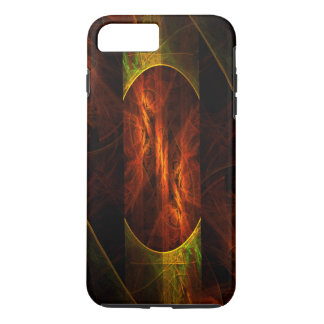 Mystique-Dschungel-abstrakte Kunst stark iPhone 8 Plus/7 Plus Hülle