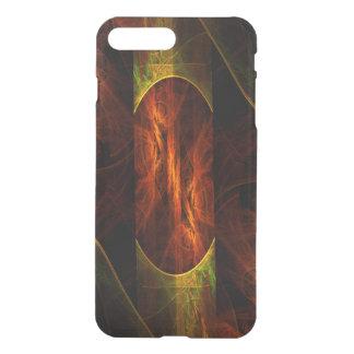 Mystique-Dschungel-abstrakter Kunst-Ablenker iPhone 8 Plus/7 Plus Hülle