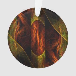 Mystique-Dschungel-abstrakter Kunst-Acryl-Kreis Ornament