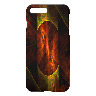 Mystique-Dschungel-abstrakter Kunst-Lech iPhone 8 Plus/7 Plus Hülle