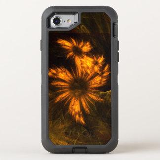 Mystique-Garten-abstrakte Kunst OtterBox Defender iPhone 8/7 Hülle
