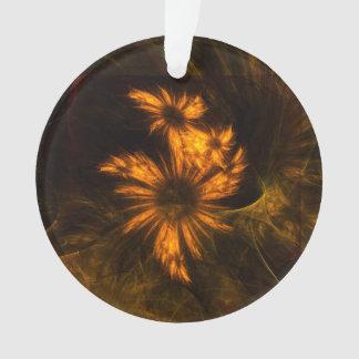 Mystique-Garten-abstrakter Kunst-Acryl-Kreis Ornament