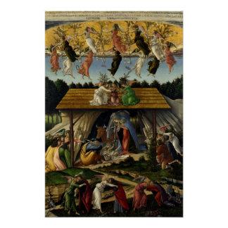 Mystische Geburt Christi durch Sandro Botticelli Poster