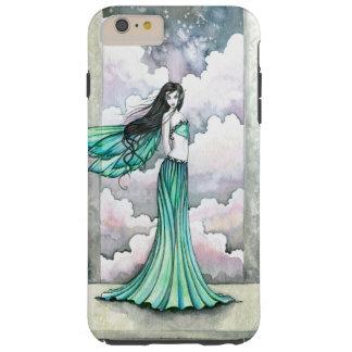 Mystische grüne feenhafte Fantasie-Kunst Tough iPhone 6 Plus Hülle