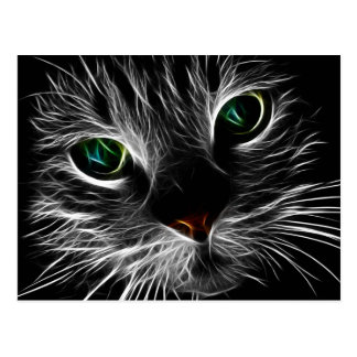 Mystische Katze Postkarte