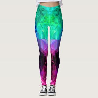 Mystische Kristalle Leggings