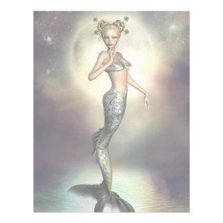 Mystische Mond-Meerjungfrau Custom Flyer