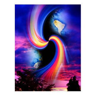 Mystische Welt 3 Postkarte