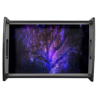 Mystischer Baum Tablett