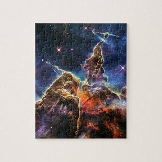 Mystischer Berg in der Raum NASA Puzzle