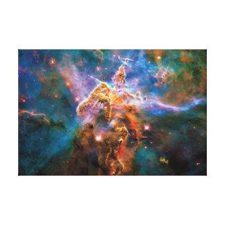 Mystischer Gebirgscarina-Nebelfleck Leinwanddruck