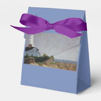 Mystischer Hafen-Leuchtturm-Bevorzugungs-Kasten Geschenkschachtel