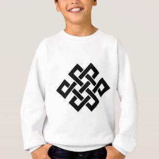 Mystischer Knoten - B&W 2 Sweatshirt