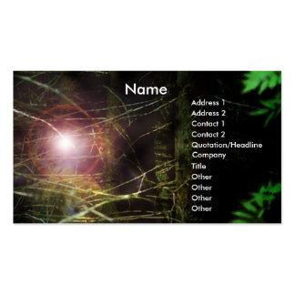 Mystischer Wald Visitenkarten