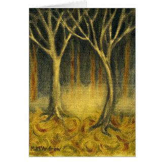 Mystisches Holz Karte