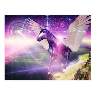 Mystisches Pferd Postkarte