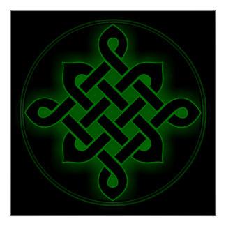 mystisches Wikinger-Symbol geistiges p des Poster