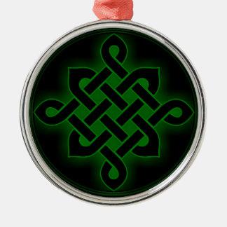 mystisches Wikinger-Symbol geistiges p des Silbernes Ornament