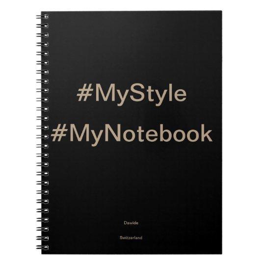 MyStyle Notebook Spiral Notizblock