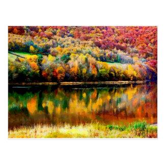 myszkowieckie See Postkarte