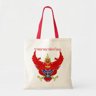 Mythische thailändische Zahl Phoenix Budget Stoffbeutel