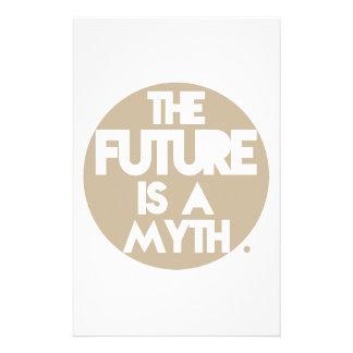 Mythos (Brown) Briefpapier