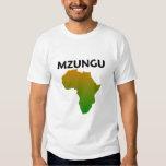 mzungu afrika t shirts