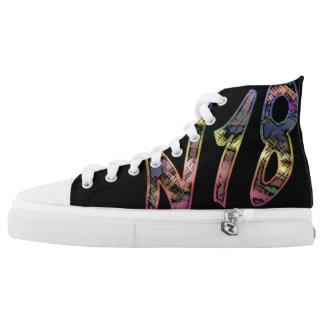 N18, Londons Nennen Hoch-geschnittene Sneaker