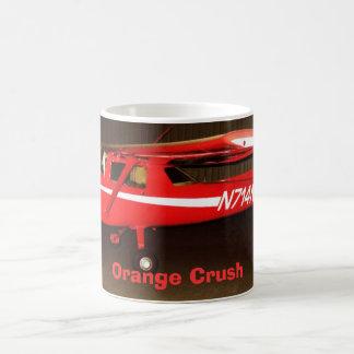 N714NY, orange Zerstampfung Kaffeetasse