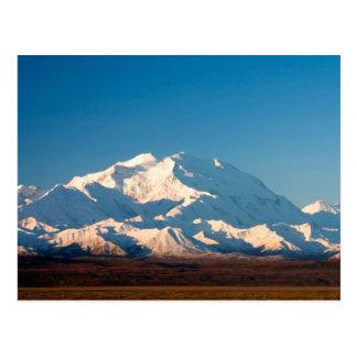 N.A., USA, Alaska.  Der Mount McKinley in Denali Postkarte