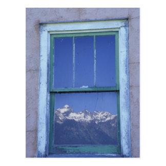 N.A., USA, Wyoming, großartiger Teton Postkarte