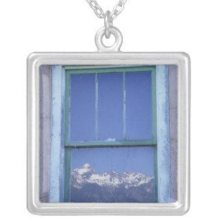 N.A., USA, Wyoming, großartiger Teton Versilberte Kette