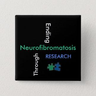 N-Düngung - Wir finden eine Heilung mit Forschung! Quadratischer Button 5,1 Cm