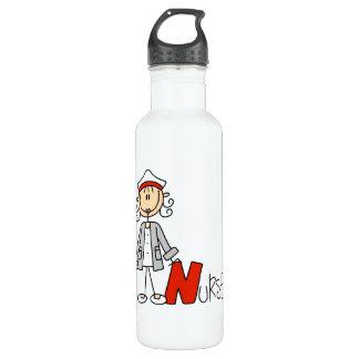 N ist für Krankenschwester Trinkflasche